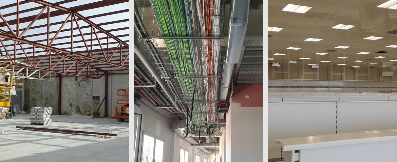 Instalación eléctrica en Müller Inca para Obras y Pavimentaciones MAN S.A.