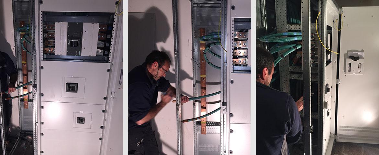 Montaje cuadro eléctrico de 1600A en Hotel Pabisa Sofía